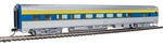 Walthers 30014 HO 85' Budd Large-Window Coach Delaware & Hudson