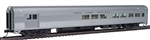 Walthers 30055 HO 85' Budd Baggage-Lounge New York Central