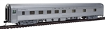 Walthers 30102 HO 85' Budd 10-6 Sleeper Santa Fe