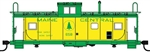 Walthers 8755 HO International Wide-Vision Caboose Maine Central #658