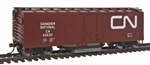 Walthers 1481 HO Track Cleaning Boxcar Canadian National