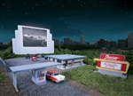 Walthers 3478 HO Skyview Drive-In Theater Kit
