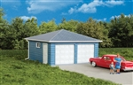 Walthers 3793 HO Two-Car Garage Kit