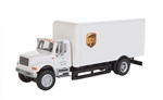 Walthers 11295 HO International(R) 4900 Single Axle Box Van Assembled UPS Cartage Services