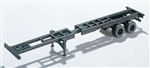 Walthers 4105 HO Extendible Container Chassis Kit