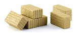 Wiking 77394 1-32 Rectangular Hay Bales Pkg 6