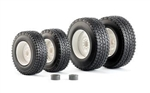 Wiking 77396 1/32 Winter Tires for Valtra T4 Series Farm Machinery 1 Set 781-77396
