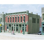 WOO12000 Woodland Scenics Co HO KIT DPM Front Street Building
