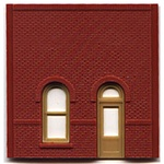 DPM 30101 HO Modular Building System Street Level Wall Sections w/Arched Entry Kit
