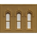 Woodland 90102 O DPM Arched Window Wall 785 -90102