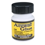 Woodland A198 Accent Glue 1.25 oz