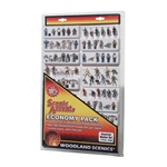 Woodland A2062 N Economy Figure Workers Assortment