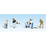 WOO2145 Woodland Scenics Co N Baseball Players I 5/ 785-2145