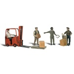 WOOA2192 Woodland Scenics Co N Workers w/Forklift
