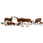 Woodland A2767 O Hereford Cows