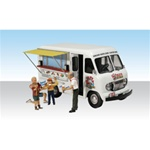 WOOAS5338 Woodland Scenics Co N Ike's Ice Cream Truck