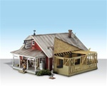 Woodland BR5031 HO Built Up Country Store Expandsion