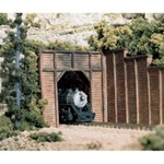 WOOC1154 Woodland Scenics Co N Single Tunnel Portal, Timber (2)