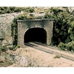 WOOC1157 Woodland Scenics Co N Double Tunnel Portal, Cut Stone (2)