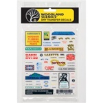 Woodland DT552 Dry Transfer Assorted Businesses