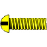 "Woodland H802 00-90 1/4"" Round Head Machine Screw (5)"