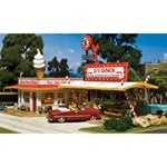 WOOPF5188 Woodland Scenics Co HO KIT D's Diner