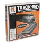 WOOST1475 Woodland Scenics Co N Track-Bed Roll, 24'
