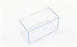 William Tell P0002 Plastic Display Case 6-11/16 x 3-9/16 x 3-9/16""