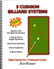 3 CUSHION BILLIARDS SYSTEMS