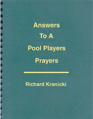 ANSWERS TO A POOL PLAYERS PRAYERS