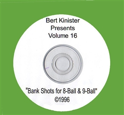 BANK SHOTS FOR 8-BALL & 9-BALL