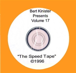 THE SPEED TAPE