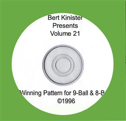 WINNING PATTERNS FOR 9-BALL & 8-BALL