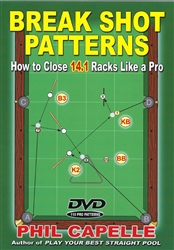 BREAK SHOT PATTERNS - BOOK & DVD