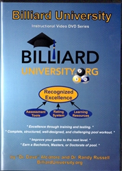 BILLIARD UNIVERSITY DVD SERIES