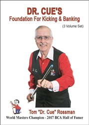 * DR. CUE'S FOUNDATION FOR KICKING & BANKING