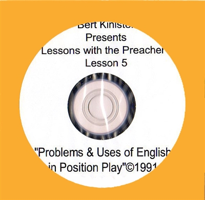PROBLEMS & USES OF ENGLISH IN POSITION PLAY