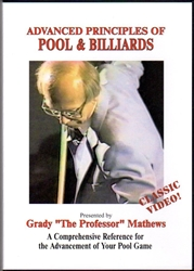 ADVANCED PRINCIPLES OF POOL & BILLIARDS DVD
