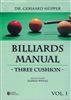 BILLIARDS MANUAL - THREE CUSHION - VOL. 1