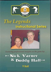 LEGENDS INSTRUCTIONAL DVD - NINE BALL
