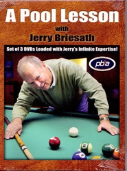 POOL LESSON WITH JERRY BRIESATH