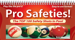 PRO SAFETIES:  THE TOP 100 SAFETY SHOTS IN POOL