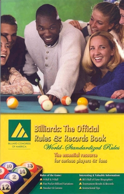 BCA OFFICIAL RULES & RECORDS BOOK 2003
