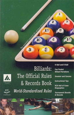 BCA OFFICIAL RULES & RECORDS BOOK 2005