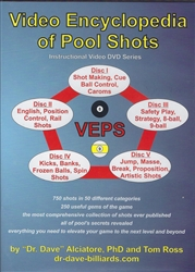*VIDEO ENCYCLOPEDIA OF POOL SHOTS