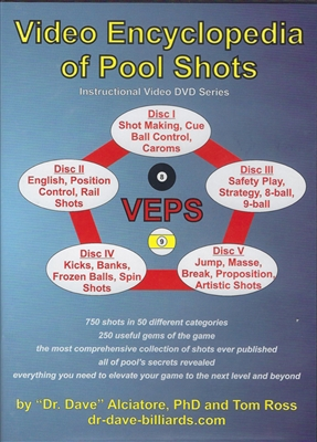 VIDEO ENCYCLOPEDIA OF POOL SHOTS