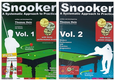 SNOOKER: A SYSTEMATIC APPROACH TO PRACTICE - VOL. 1 - 2