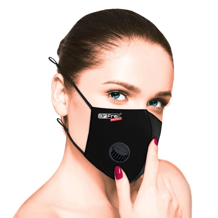 Dr. Frei Protection Mask Black - 6 Pack