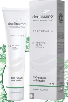 Dentissimo Bio- Natural with Herbs Toothpaste -75 ml