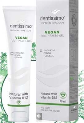 Dentissimo Vegan Toothpaste -75 ml